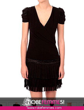 Robe taille basse femme